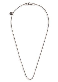 Men's John Varvatos Skull Chain Necklace