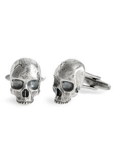 Men's John Varvatos Skull Cuff Links