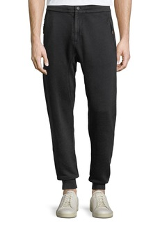 John Varvatos Men's Knit Jogger Pants