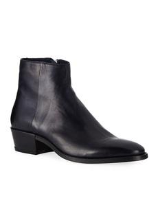 John Varvatos Men's Ludlow Leather Ankle Boot