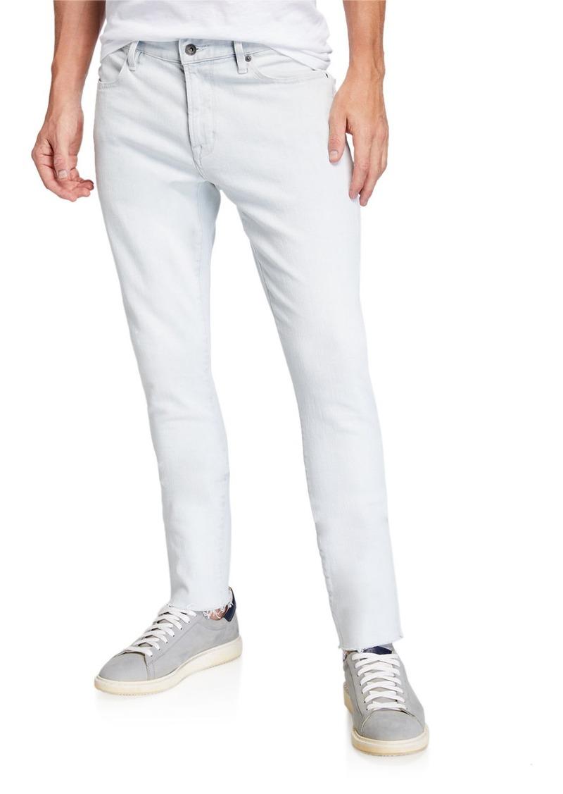 John Varvatos Men's Matchstick Frayed Skinny Jeans