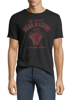 John Varvatos Men's Mean Machine Graphic T-Shirt