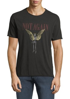 John Varvatos Men's Not Again Graphic T-Shirt