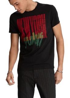 John Varvatos Men's NY Punks Graphic T-Shirt