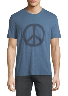 John Varvatos Men's Peace Symbol Graphic T-Shirt