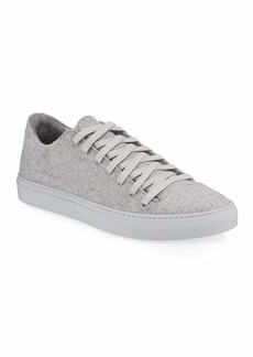 John Varvatos Men's Reed Low-Top Wool-Felt Sneakers