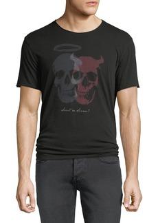 John Varvatos Men's Saint or Sinner Graphic T-Shirt