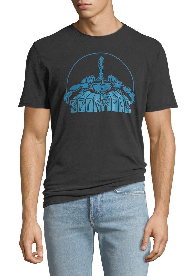 John Varvatos Men's Scorpions Graphic Band T-Shirt
