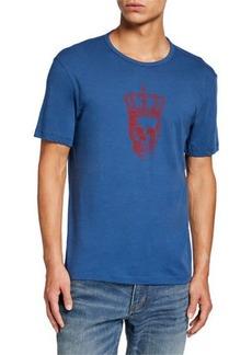 John Varvatos Men's Skull Crown Short-Sleeve Graphic T-Shirt