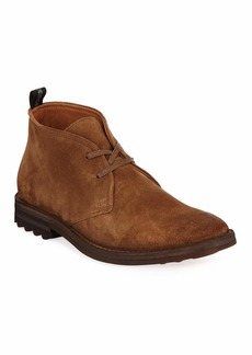 John Varvatos Men's Stanton Suede Chukka Boots
