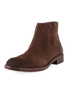 John Varvatos Men's Waverly Suede Chelsea Boots
