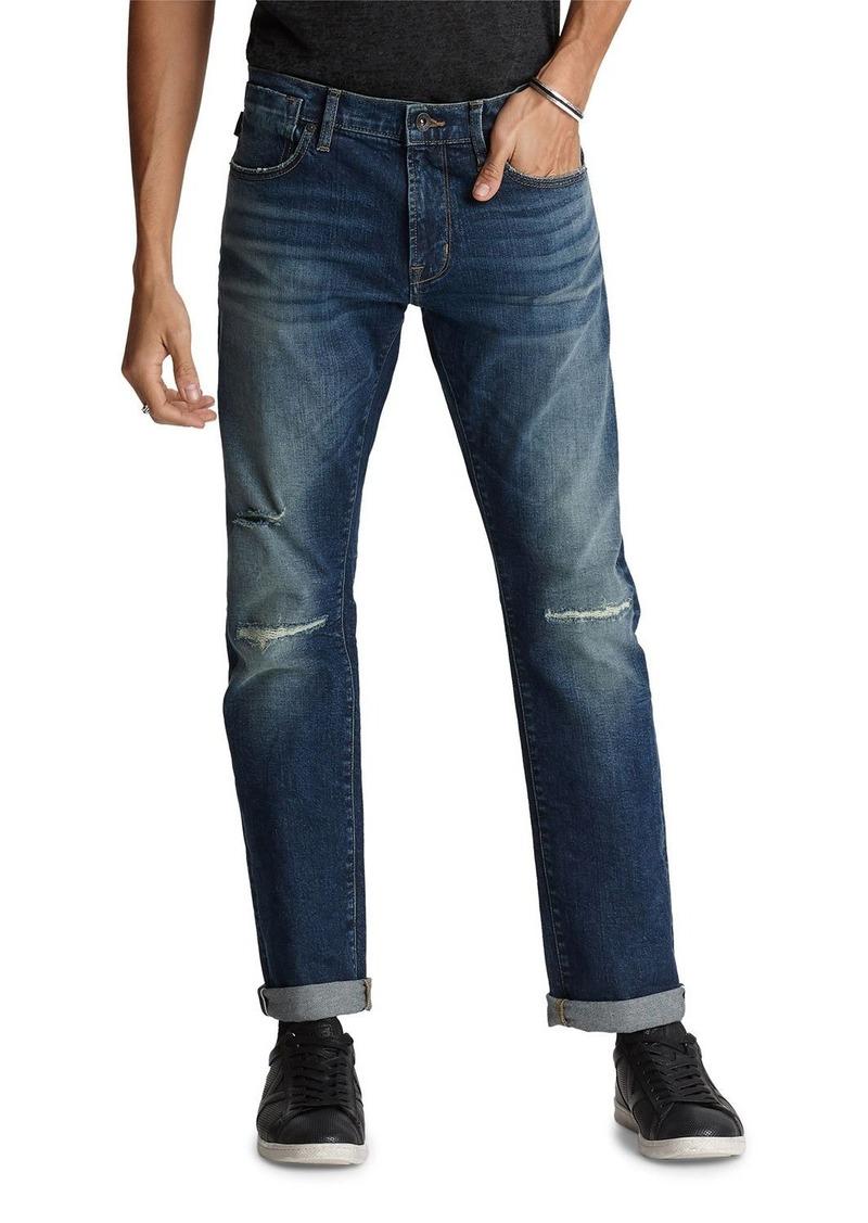 John Varvatos Men's Wight-Fight Norfolk-Wash Skinny Jeans