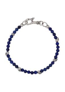 John Varvatos Mercer Sterling Silver & Lapis Bracelet