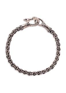 John Varvatos Mercer Sterling Silver Chain Bracelet