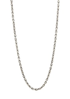 John Varvatos Mercer Sterling Silver Chain Necklace