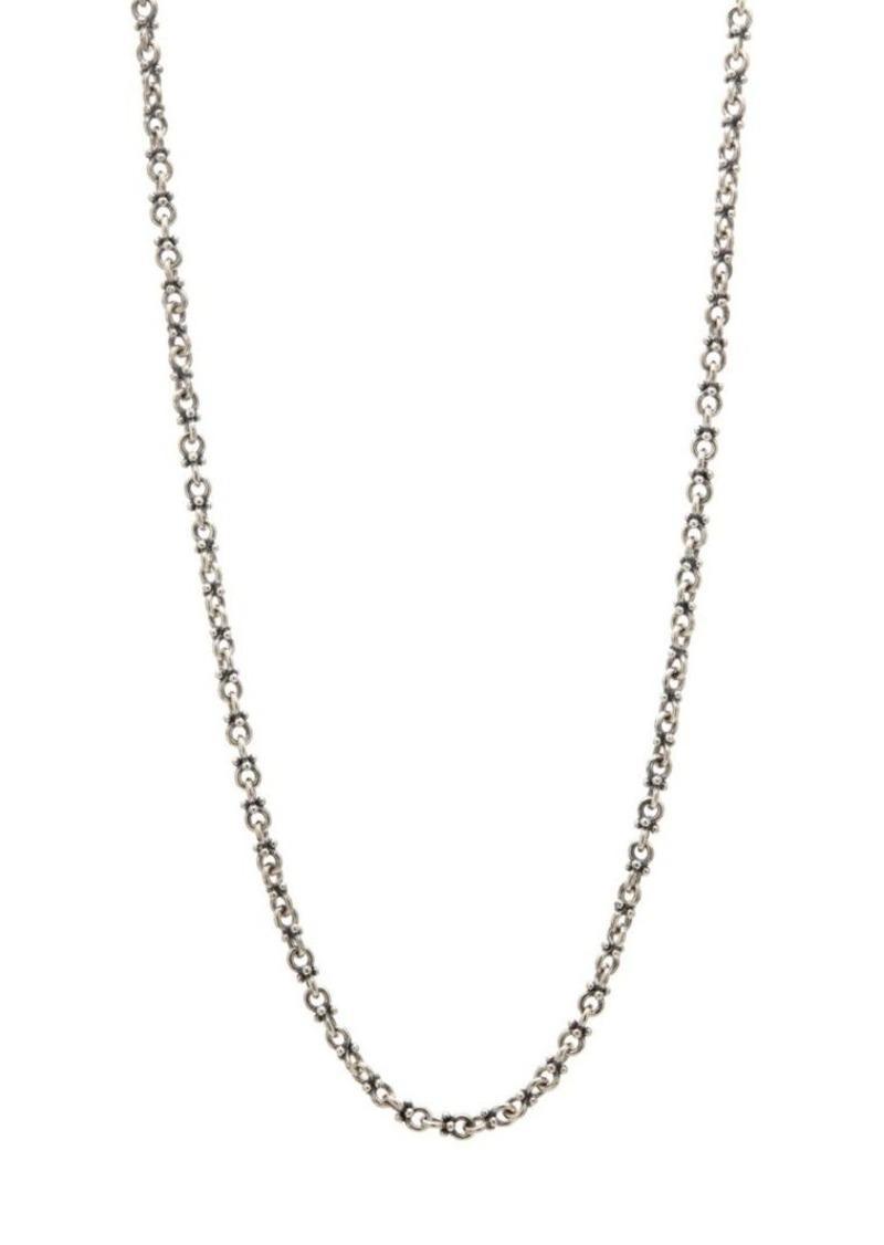 John Varvatos Mercer Sterling Silver Chain Necklace