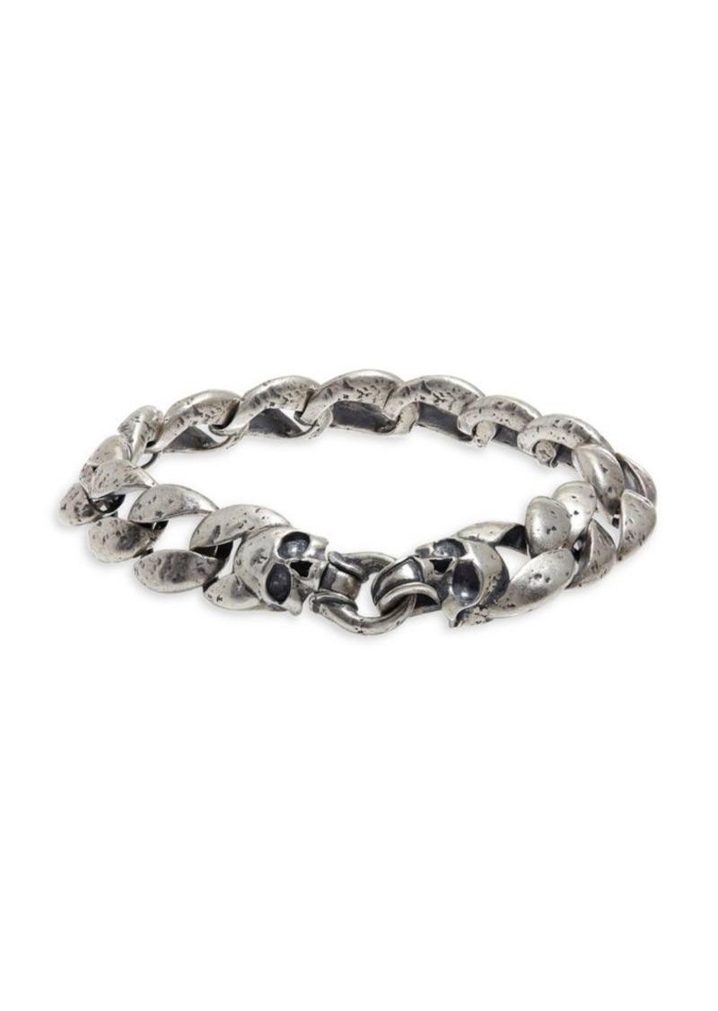 John Varvatos Mercer Sterling Silver Link Bracelet