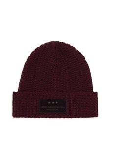 John Varvatos Merino Wool Knit Hat