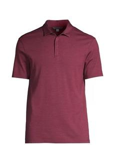 John Varvatos Montauk Silk & Cotton Polo