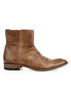 John Varvatos Morrison Sharpei Leather Boots