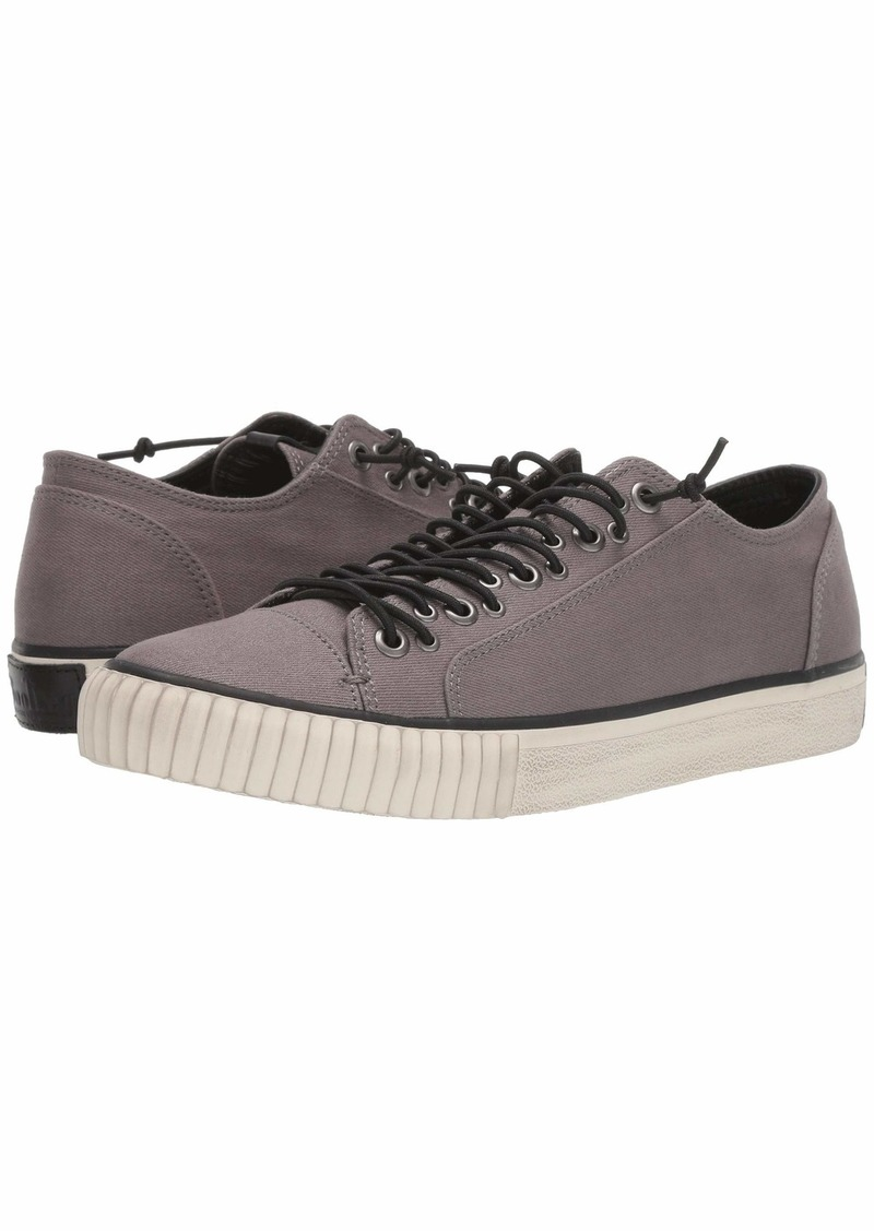 John Varvatos Multilace Low-Top Coated Denim