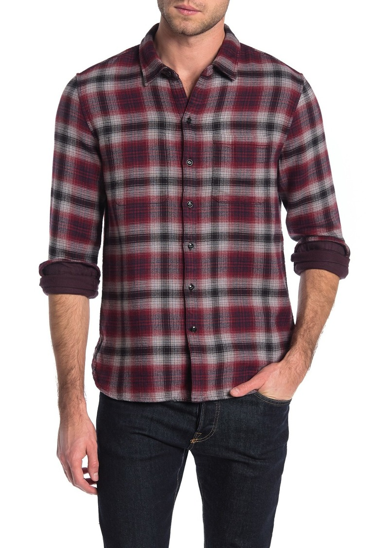 John Varvatos Neil Long Sleeve Reversible Sport Shirt