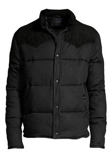 John Varvatos Pacey Western Style Puffer Jacket