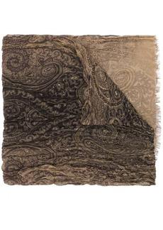 John Varvatos paisley print scarf