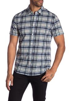 John Varvatos Patterned Short Sleeve Regular Fit Shirt