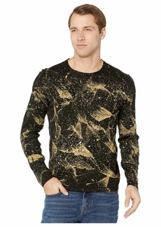 John Varvatos Phoenix Long Sleeve Mercerized Cotton with Intergalactic Print Y1989V4B