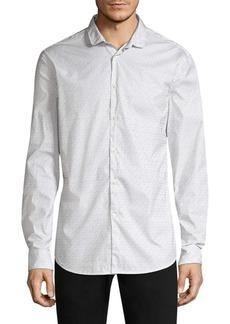 John Varvatos Pinstripe Button Down Shirt