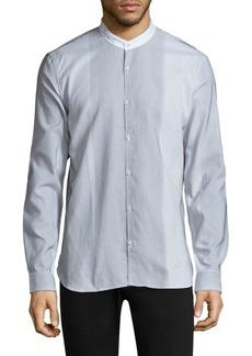 John Varvatos Pinstripe Cotton Button-Down Shirt
