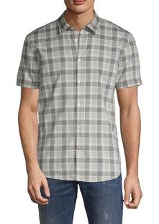 John Varvatos Plaid Button-Down Shirt