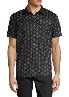 John Varvatos Printed Button-Down Shirt