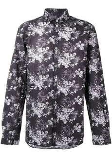 John Varvatos printed longsleeved shirt