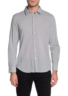 John Varvatos Printed Slim Fit Shirt