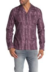 John Varvatos Printed Slim Fit Shirt