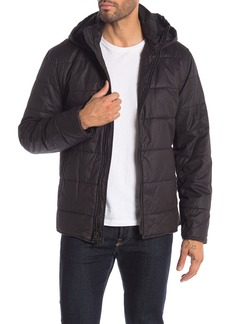 John Varvatos Quilted Puffer Hooded Jacket