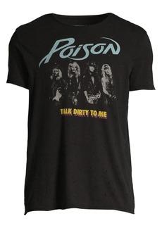 John Varvatos Raw Edge Vintage Wash Poison Talk Dirty T-Shirt