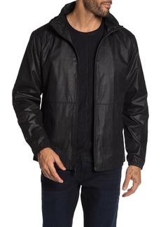 John Varvatos Robby Water Repellent Windbreaker Jacket