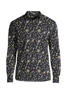 John Varvatos Ross Slim-Fit Floral Shirt