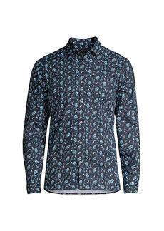John Varvatos Ross Slim-Fit Floral Shirt