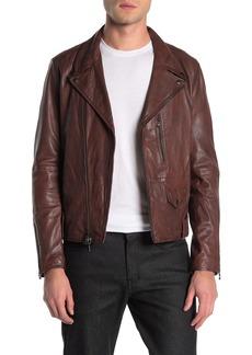 John Varvatos Sammy Leather Jacket