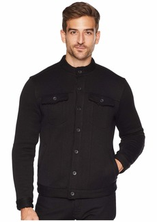 John Varvatos Sherpa Lined Knit Jean Jacket