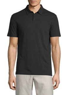 John Varvatos Short-Sleeve Cotton Polo