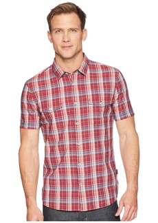 John Varvatos Short Sleeve Shirt with Chest Pockets W519U1B