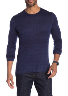 John Varvatos Solid Pullover Sweater
