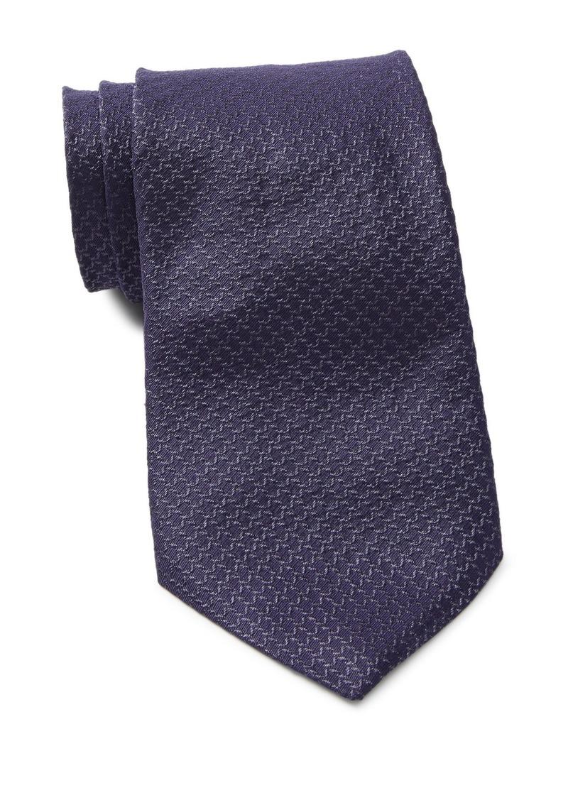 John Varvatos Silk Grid Tie