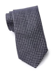 John Varvatos Silk Houndstooth Tie