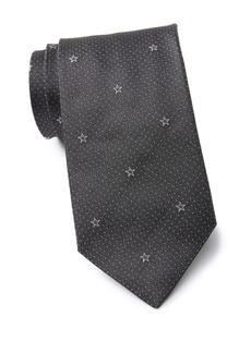 John Varvatos Silk Star Tie